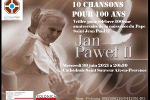 Veillée St Jean Paul II